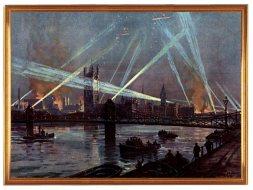 Zeppelin sobre Londres