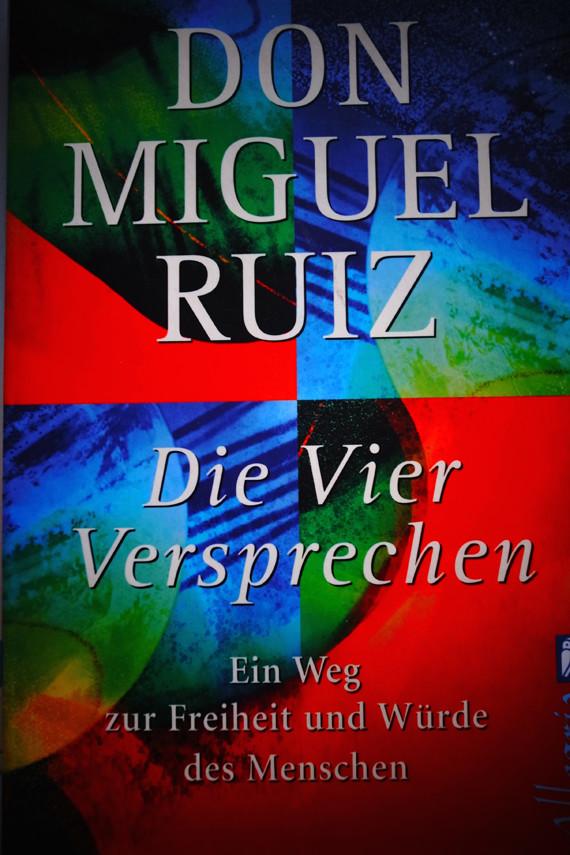 """Die ganze Weisheit der Toltekenist hier zu finden: Don Miguel Ruiz """"Vier Versprechen"""""""