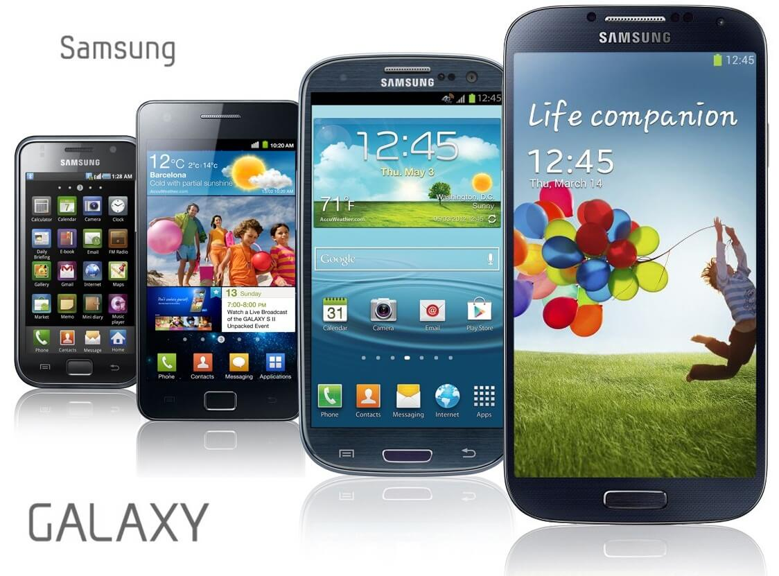 samsung galaxy phones in all sizes for different people. Black Bedroom Furniture Sets. Home Design Ideas