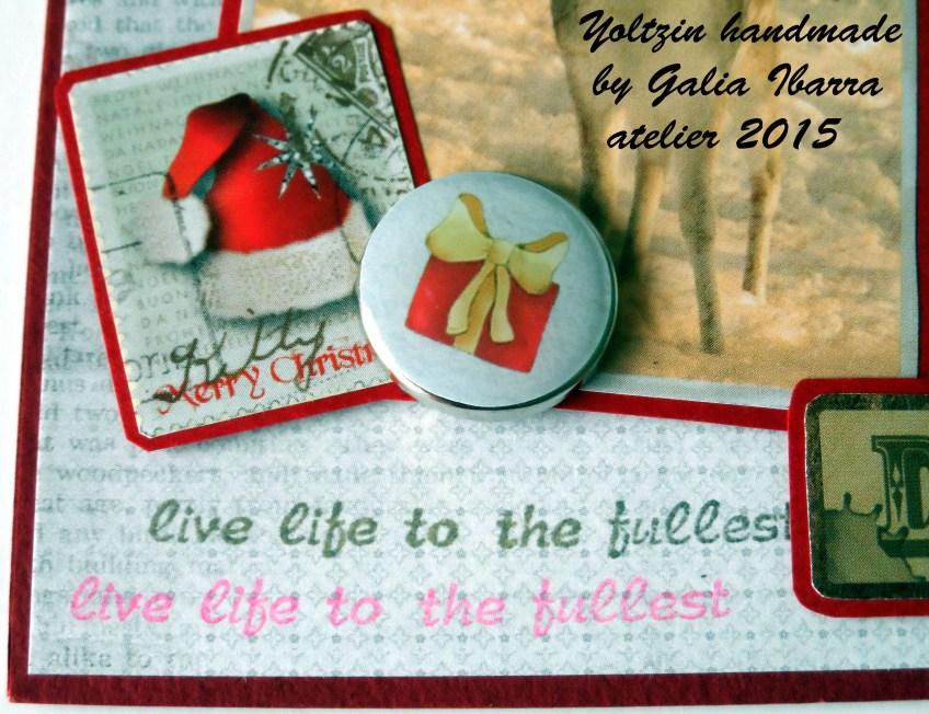 Yoltzin handmade - Scrapberry's december challenge