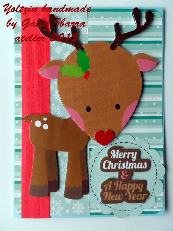 Christmas card - Tarjeta de Navidad - Kerstkaartje