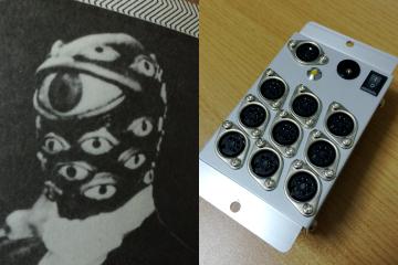 「百目タイタン」と「MIDI PARA BOX」