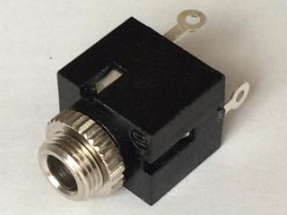 3.5mm モノラル ミニジャック BOX型 スイッチ付