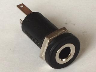3.5mm モノラル ミニジャック パネル取付用