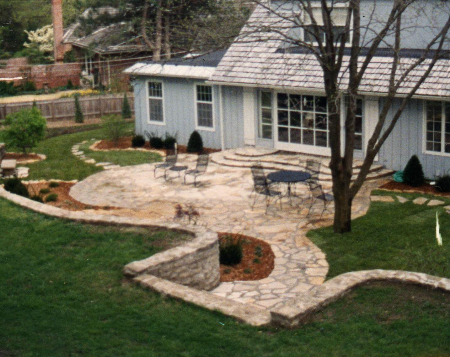 Inspirational Mission Hills Outdoor Living Flagstone Patio Kansas City Patio Design Installation S By York Backyard Living Areas Mansfield Tx Backyard Living Areas outdoor Backyard Living Area