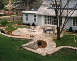 Inspirational Mission Hills Outdoor Living Flagstone Patio Kansas City Patio Design Installation S By York Backyard Living Areas Mansfield Tx Backyard Living Areas