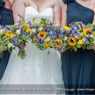 Kayleigh and her bridesmaids