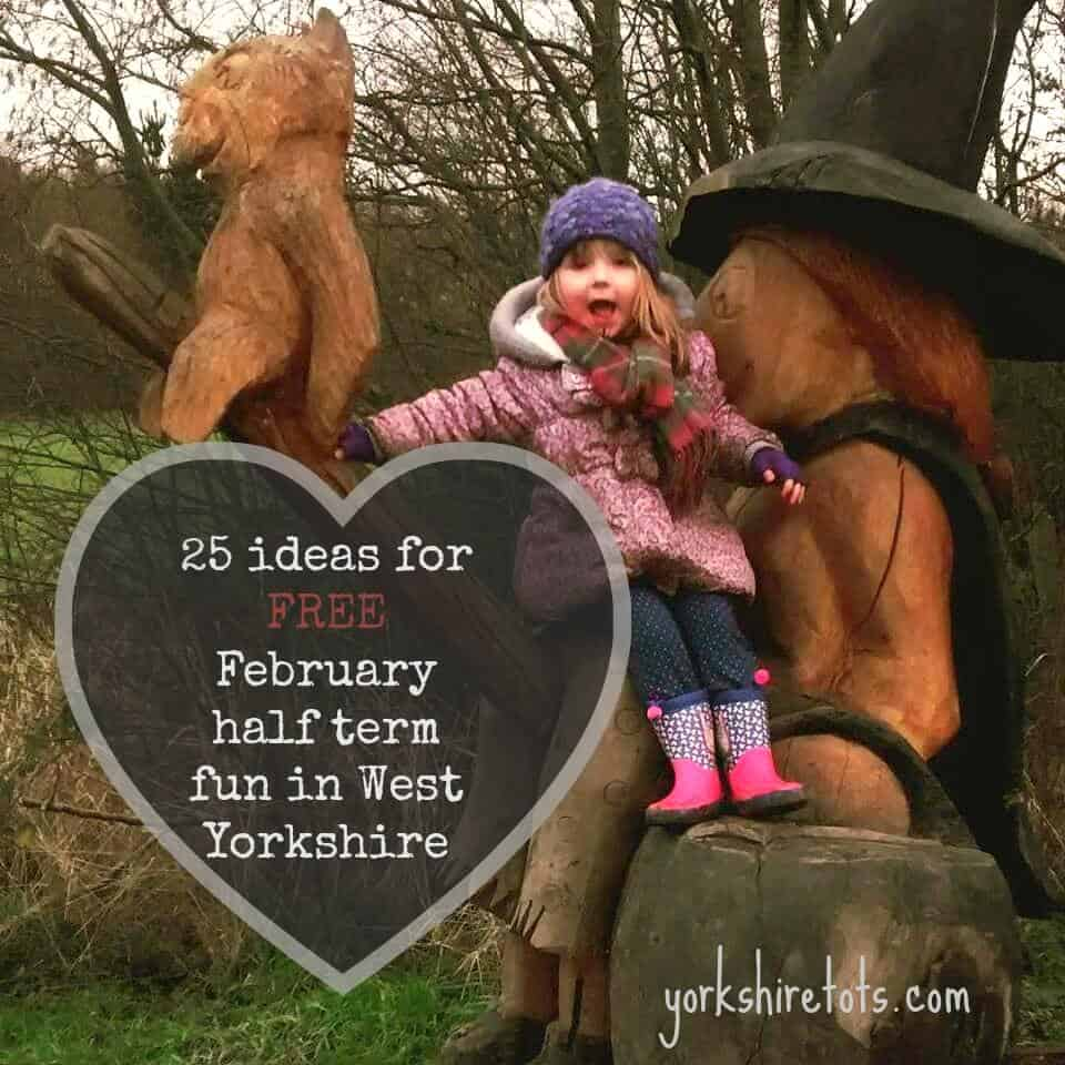 25 ideas for FREE February half term fun in West Yorkshire