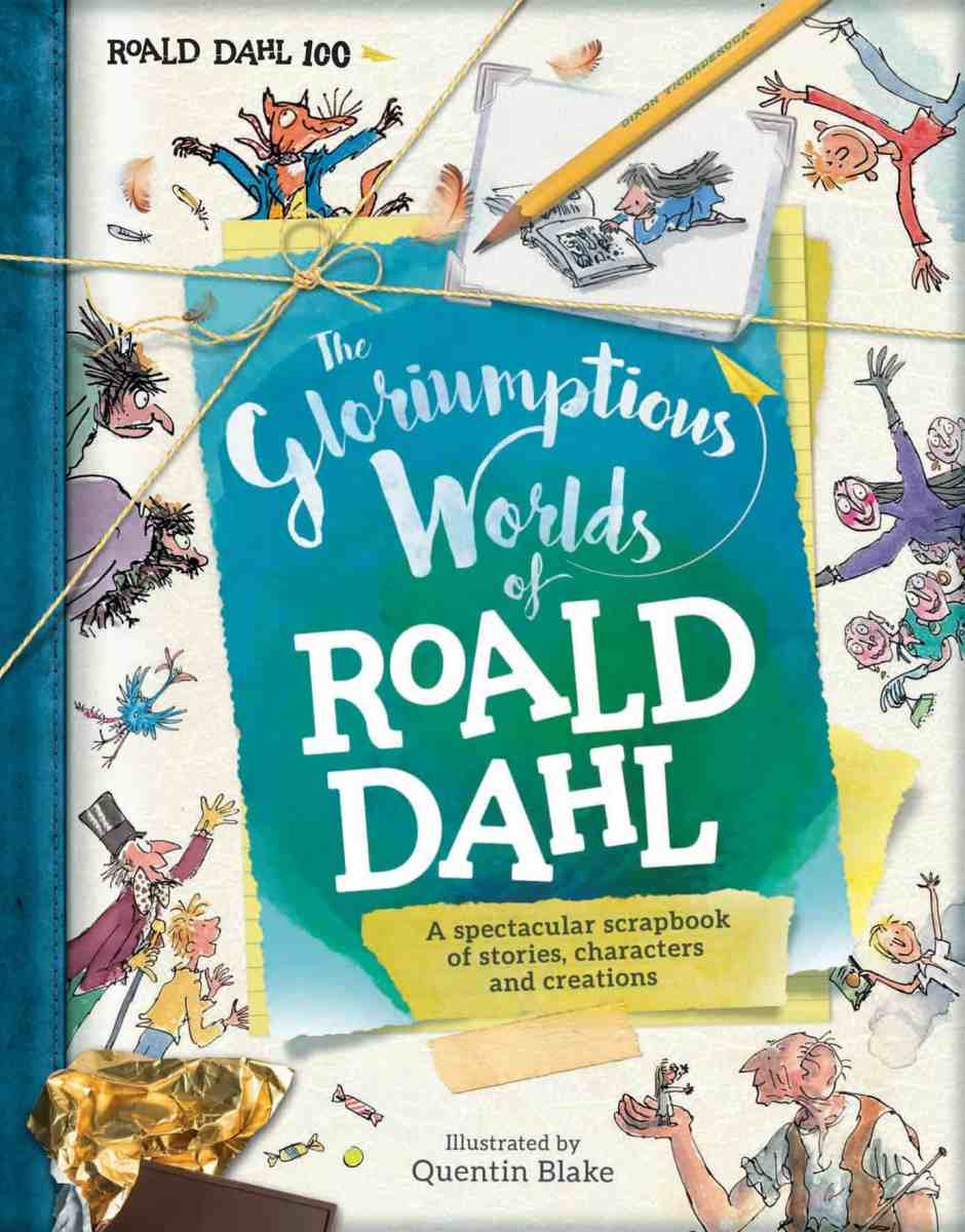 Celebrating 100 years of Roald Dahl with a gloriumptious book giveaway