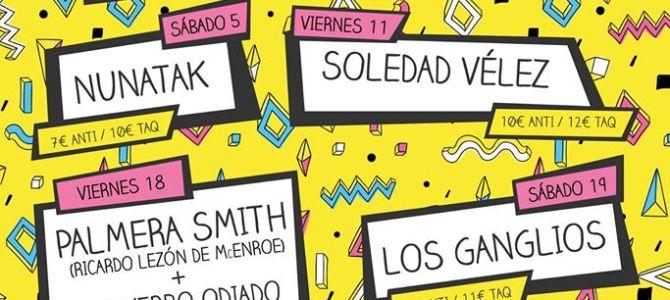 NUNATAK en concierto: El Veintiuno, 5 Nov (Huesca)