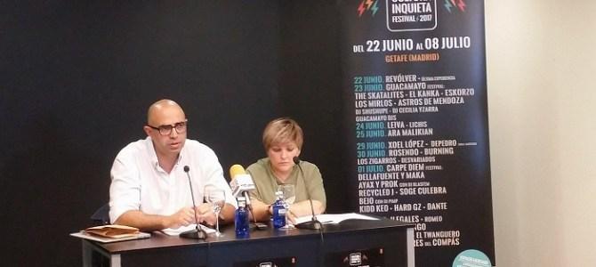 Presentación del Festival Cultura Inquieta 2017