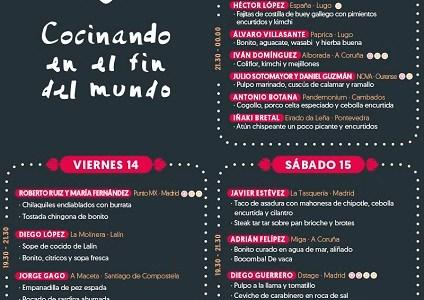 PortAmérica 2017: Los chefs y sus pinchos