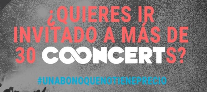 ¿Quieres ir gratis a más de 30 conciertos?
