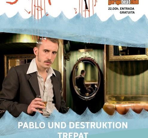 Trepat y Fizzy Soup se unen a Pablo Und Destruktion en el cartel del Ciclo Big Up! Murcia Live.
