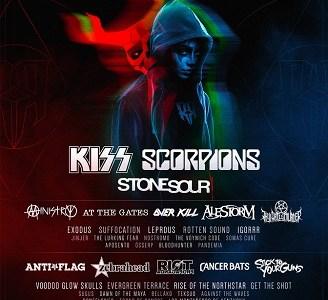 KISS Y SCORPIONS encabezarán el Resurrection Fest 2018