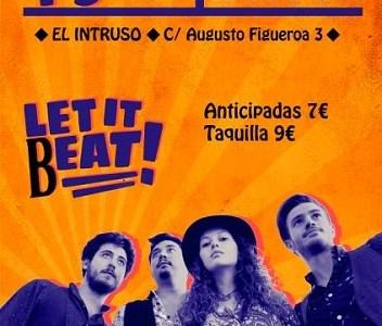 LET IT BEAT presentan su nuevo disco en Madrid