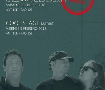 Sorteamos dos entradas dobles para el concierto de PARANORMALES de Barcelona