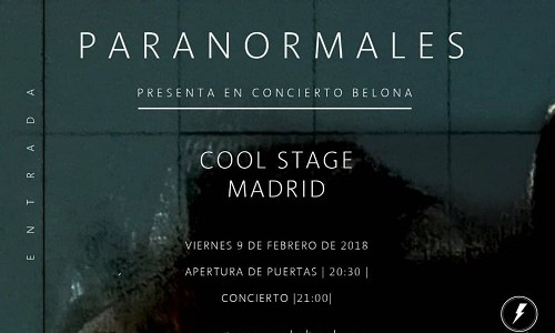 Sorteamos dos entradas dobles para ver a PARANORMALES en Madrid.