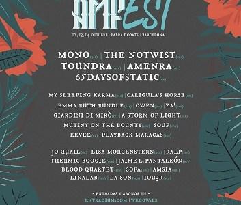 Se completa el cartel más ambicioso del AMFest.