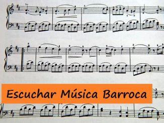 Escuchar Musica Barroca