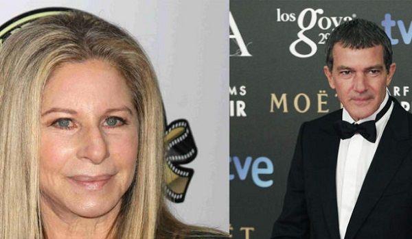 Antonio Banderas Canta a Dúo con Barbra Streisand