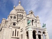Sacré-Cœur Basilica, Paris, France.