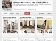 philippa Richard pinterest page