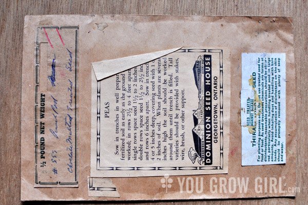 Dominion Seed Vintage Seed Package