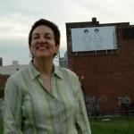 Massachusetts Ave. Billboard Project: Judith G. Levy