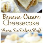 Banana Cream Cheesecake Recipe