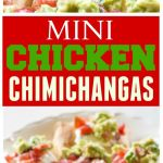 Mini Chicken Chimichangas
