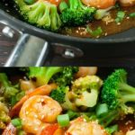 Szechuan Shrimp and Broccoli