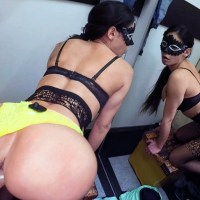 Penelope Damatrix - Anonymous fitting room