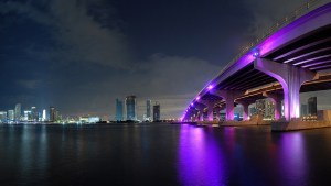 Stunning Miami at Night