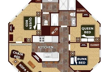 floor plan disneys treehouse villas from yourfirstvisit.net