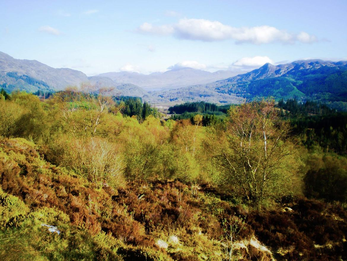 trossachs viewpoint stirling