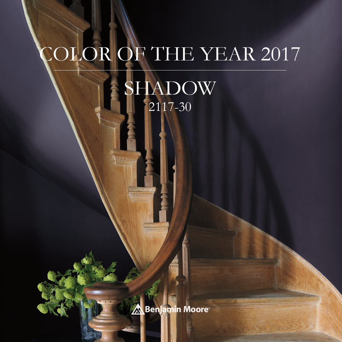 Benjamin moore 39 s color of the year 2017 your life in for Sherwin williams color of the month october 2017