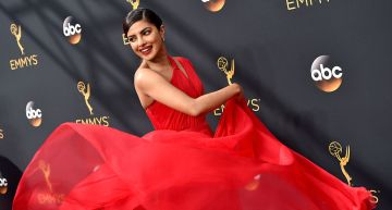 Priyanka Chopra's Fiery Red Gown