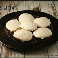 Iced Lemon Sugar Cookies