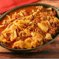 Unstuffed Cabbage Roll Casserole #SundaySupper