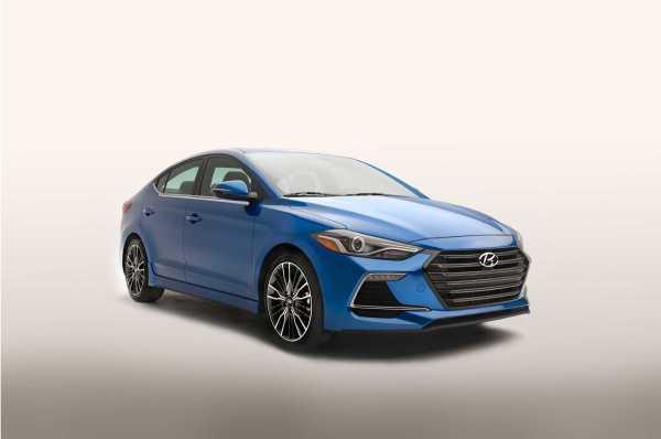 2017 Hyundai Elantra Sport Front