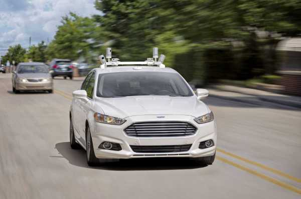 Ford Fusion Hybrid Autonomous Vehicle