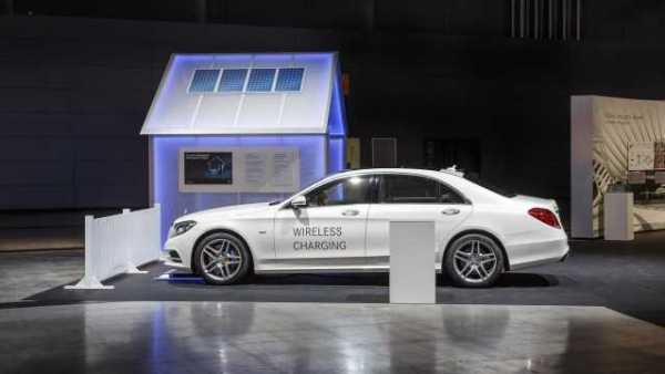 2017 Mercedes-Benz S550e with Wireless Charging
