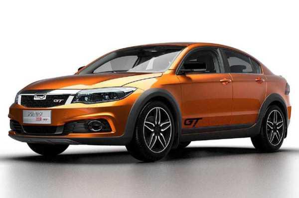 Qoros EV Concept Guangzhou Motor Show
