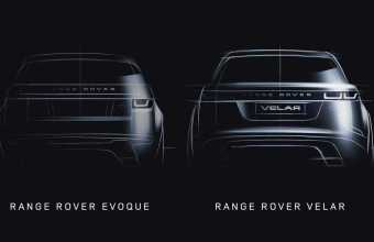 Range Rover Velar and Evoque