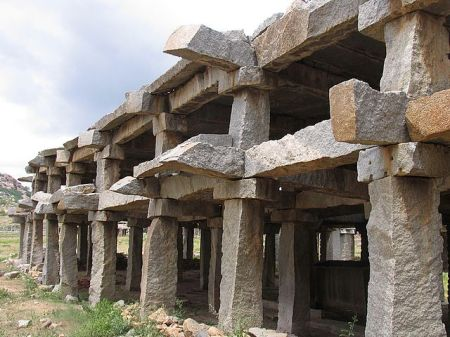 Hampi ruins Unusual Short Story