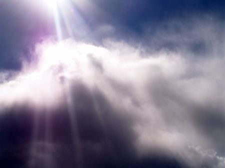 poem-collection-sun-ray-clouds