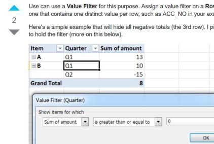 SuperUser Value Filter answer