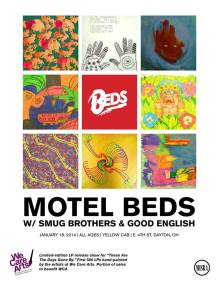 Motel Beds 'These are Days Gone By' Vinyl Pre-Release show