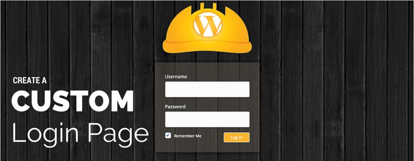 custom-login-page